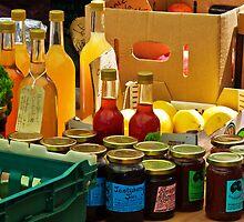 Organic Produce For Sale ~ Bridport Market by Susie Peek