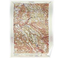 USGS Topo Map Oregon Boring 282268 1914 62500 Poster