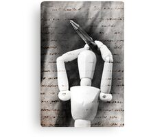 The Pen Is Mightier Than The Sword Canvas Print