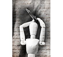 The Pen Is Mightier Than The Sword Photographic Print