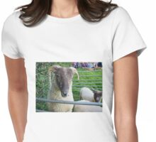 Posing For The Camera Womens Fitted T-Shirt