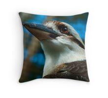 Where the Kookaburras Call  Throw Pillow