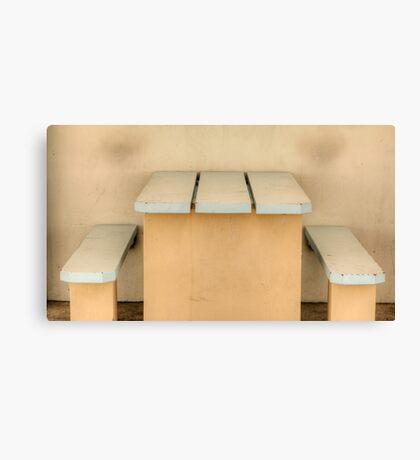 Have a seat - Newcastle Baths Canvas Print