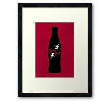 Cherry Cola Framed Print