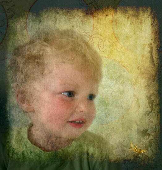 Through The Eyes Of A Child by Angela  Burman
