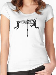 Merry Go Hills Hoist Women's Fitted Scoop T-Shirt