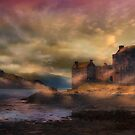 Mists of time - Eilean Donan Castle by Cat Perkinton