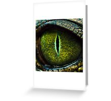 Eye of the Crocodile II [Print & iPad Case] Greeting Card