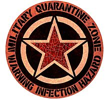 Quarantine Zone Photographic Print