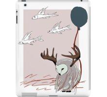 Owl & flying fish iPad Case/Skin
