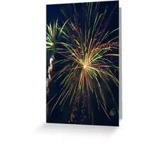 Party Streamers Greeting Card