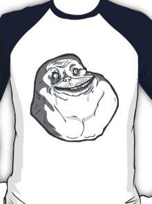 Forever Alone Dynamic Design T-Shirt