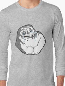 Forever Alone Dynamic Design Long Sleeve T-Shirt