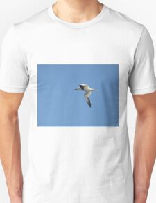 Gannett over the North sea Unisex T-Shirt