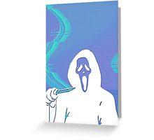 Ghostface Gang Greeting Card