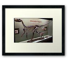 Ancient Wannanosaurus Framed Print