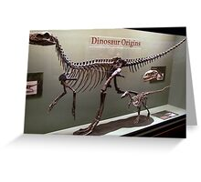 Ancient Wannanosaurus Greeting Card