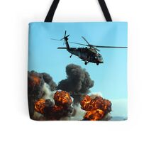 Australian Army helicopter signed Tote Bag