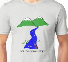 Fly Fishing - Simple Things Unisex T-Shirt