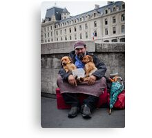 French Reality Canvas Print