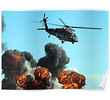 Australian Army Helicopter 3 Poster