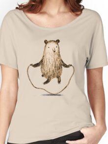 Skipping Bear Women's Relaxed Fit T-Shirt