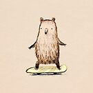 Skateboarding Bear by Sophie Corrigan