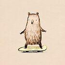Skateboarding Bear by Sophie Corrigan