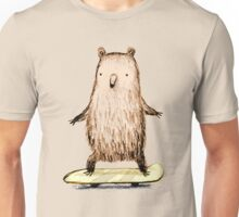 Skateboarding Bear Unisex T-Shirt
