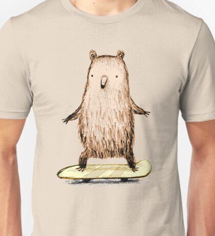 Skateboarding Bear Unisex T-Shirt