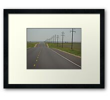 """The Long Road Home"" Framed Print"