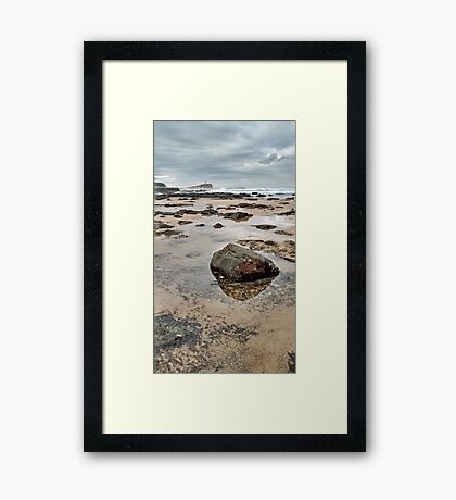 The Ever-Changing Sea Framed Print