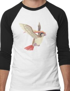Pidgeot Men's Baseball ¾ T-Shirt