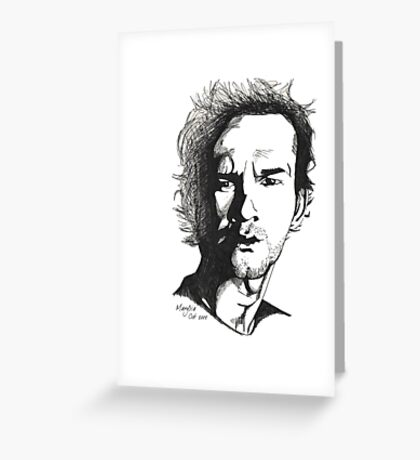 Dominic Monaghan Greeting Card