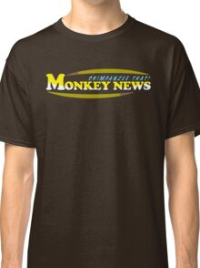 Chimpanzee That! Monkey News Classic T-Shirt
