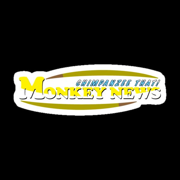 Chimpanzee That! Monkey News by Rechenmacher