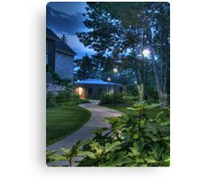 The Curved Sidewalk (Re-revisited) Canvas Print