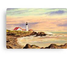 Portland Head Lighthouse Maine Canvas Print