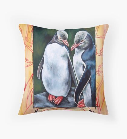 Hoi Hoi Throw Pillow