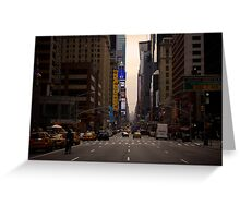Lost in NYC Greeting Card
