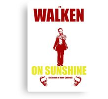 Walken on Sunshine for Cowbell Canvas Print