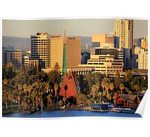 Perth City from King's Park Poster
