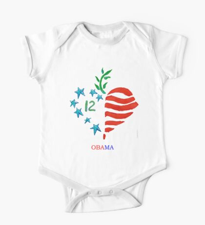 Obama 2012 t-shirt One Piece - Short Sleeve