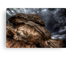 Angry Rock Canvas Print