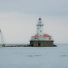 Chicago lighthouse by Kent Burton