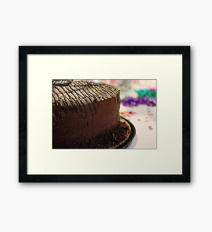 Totally Chocolate Framed Print