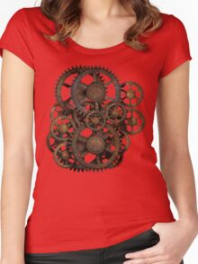 Gears on your Gear Women's Fitted Scoop T-Shirt