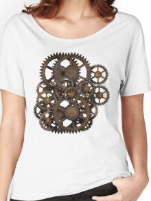 Infernal Vintage Steampunk Gears on your Gear Women's Relaxed Fit T-Shirt
