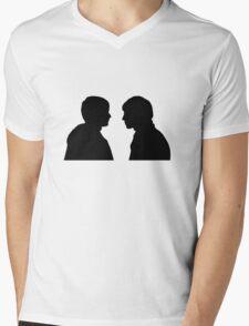 Merlin/Arthur Silhouette Mens V-Neck T-Shirt