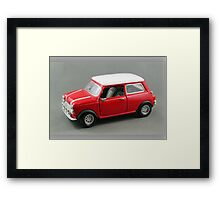 Mini Cooper - Made in China Framed Print